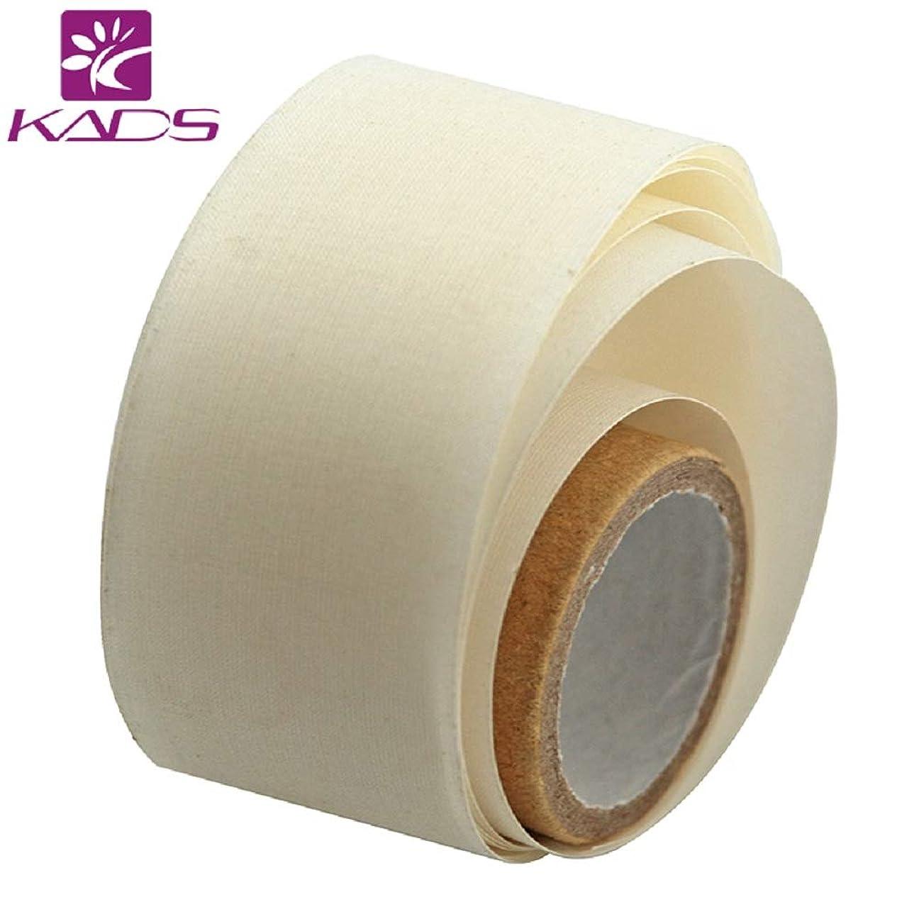 寝室を掃除する消化自動車KADS ネイルシルクテープ ネイルリペアテープペラ用 爪の補修 ジェルアクリルネイルアートツール(サイズ3)