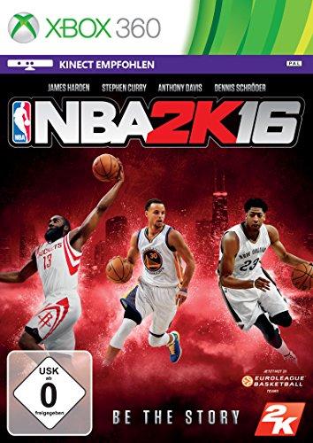 NBA 2K16 (USK ohne Altersbeschränkung) XBOX 360