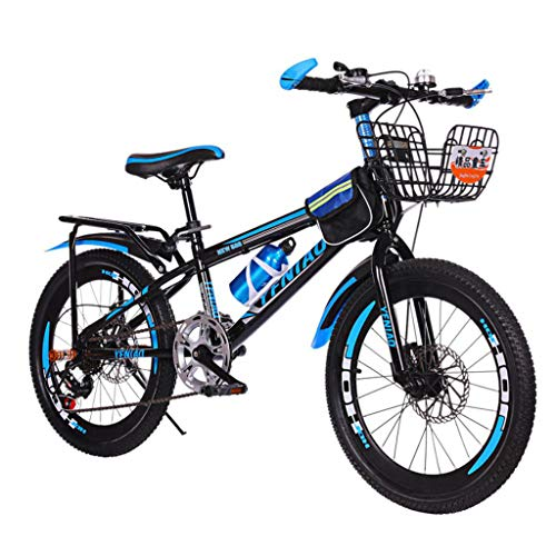 pan hui Adult Mountain Bikes 24 Inch Mountain Trail Bike High Carbon Steel Full Suspension Frame Bicycles Mountain Bicycle Double Disc Brake Bicycle Bike for Adult Teens