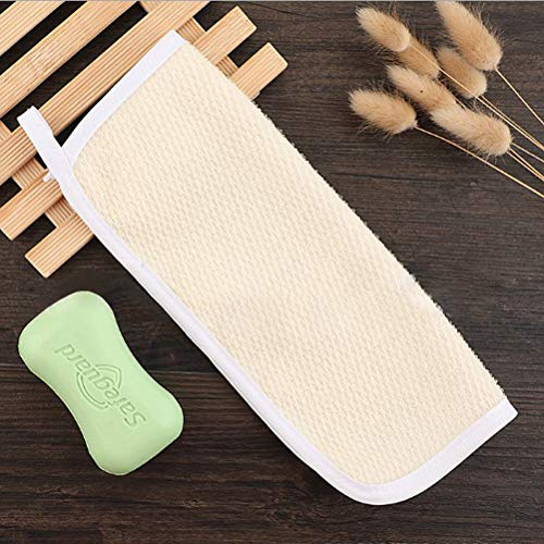 8Pack Exfoliating Nylon Terry Cloth Soft-Weave Wash Cloths Massage Bath Cloth for Women and Man Skin Care, Shower Scrubber, Remove Dead Skin, Beauty Skin Home Massage Bath Cloth Photo #6