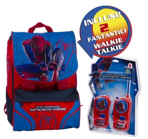 Giochi Preziosi Zaino Estensibile Medium Spiderman 4 con Super Sorpresa
