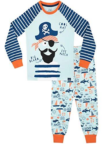 Harry Bear Jungen Piraten Schlafanzug Slim Fit Blau 98
