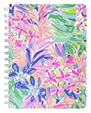 """Lilly Pulitzer Hardcover Mini Spiral Notebook, 8.25"""" x 6.5"""" Small Journal with 160 College Ruled Pages, It Was All A Dream"""