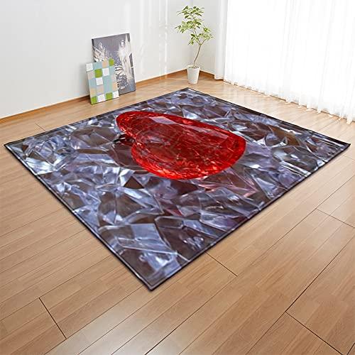 YDyun Alfombra De Salón Patchwork Diseño Adecuado para Sala de Estar, Pasillo, Alfombrillas de...