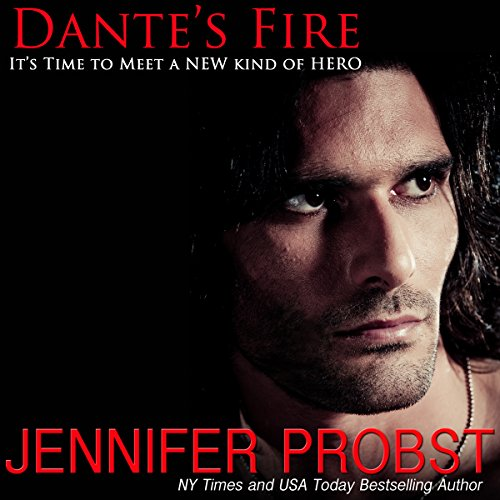 Dante's Fire audiobook cover art