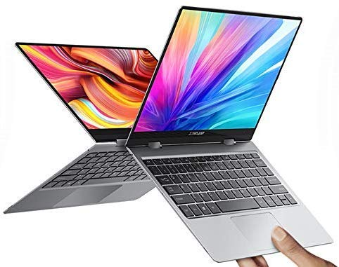 Notebook Teclast F5 11.6    IPS 1920 * 1080 Sistema operativo Windows 10 Quad Core 8GB RAM 256GB SSD Rotazione di tipo C a 360 ° Notebook con ricarica rapida