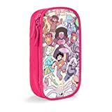 VCKTU354OI Kids Stexx_Univ 3D Printing School Pencil Case Pen Bag Pouch for Girls Pink