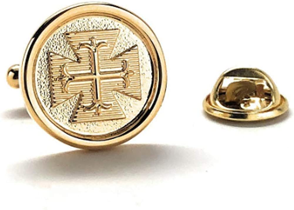 Williams and Clark Cross Omaha Mall Enamel Special price for a limited time Pin Religious Catholic Lapel