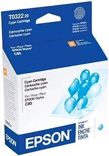 Epson T032220 Cyan Ink Cartridge for Epson Stylus C80/80N/C80WN