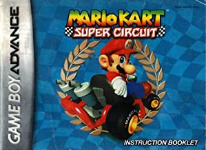 Mario Kart Super Circuit Instruction Booklet User's Guide Book Manual for Game Boy Advance
