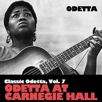 Classic Odetta, Vol. 6: Odetta at Carnegie Hall