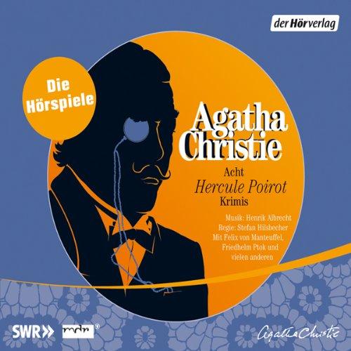 Acht Hercule Poirot Krimis audiobook cover art