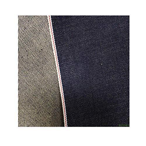 Stretch denim nieuwe katoenen zwarte twill overalls stof lente en herfst trenchcoat broek jurk stof (Color : Light blue)
