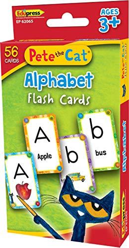 Pete The Cat Alphabet Flash Cards