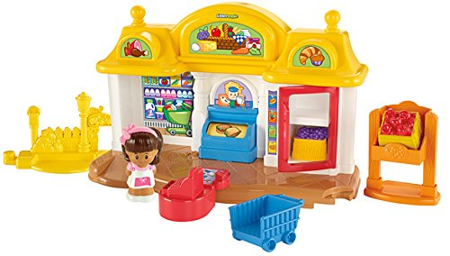 Fisher-Price Little People Corner Market Playset