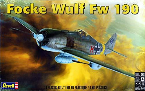 Revell Rmx855271 1: 48 Focke Wulf FW 190 [Model Building Kit]