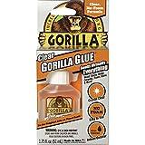 Gorilla 4500104クリア接着剤 1.75オンス 透明 1 - Pack 4500104 1