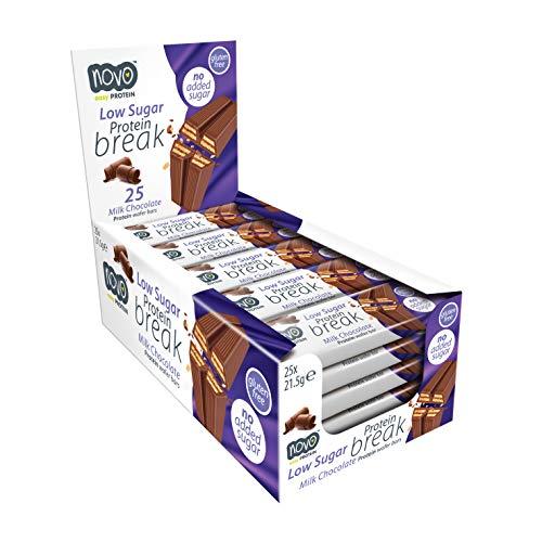 Novo Protein Break Bar (Box of 25 x 21.5g bars)