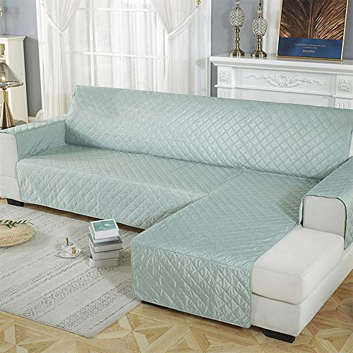 Ecksofa Cover, weiche rutschsicherer Chaiselongue Möbel Haustiere Hunde-Schutz (Color : B, Size : LEFT200*270CM)