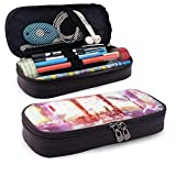 Pencil Case Big Capacity Large Storage Pen Pencil Pouch Box Organizer Portable Bag Holder with Zipper - Anime The Violet Evergarden