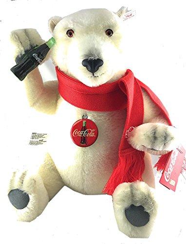 Steiff Coca Cola Plüsch Polar Bär, 35 cm