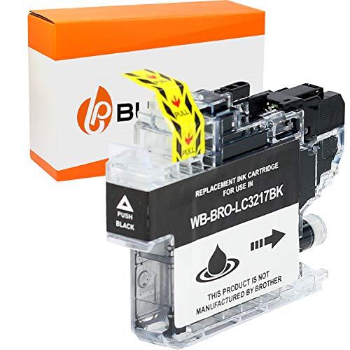Bubprint Kompatibel Druckerpatrone als Ersatz für Brother LC-3217BK LC3217BK für MFC-J5330DW MFC-J5335DW MFC-J5730DW MFC-J5930DW MFC-J6530DW MFC-J6930DW Schwarz