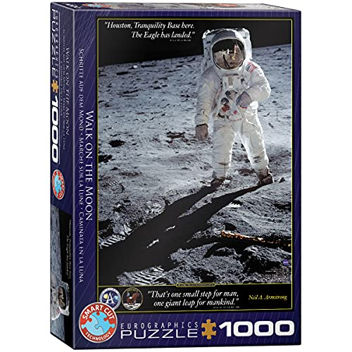 EuroGraphics Walk on The Moon Puzzle (1000-Piece) (6000-4953)