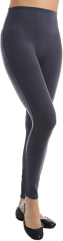 Spanx Women's Cut & Sew Cropped Essential Leggings Steel Pants XS X 24