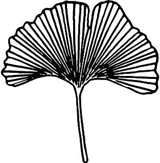 Azeeda A7 'Ginkgo Leaf' Unmounted Rubber Stamp (RS00011509)