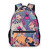 Anime-Danganronpa Junko-Kokichi-Monokuma Merch 3-D Print Backpack Large Casual Backpack for Youth