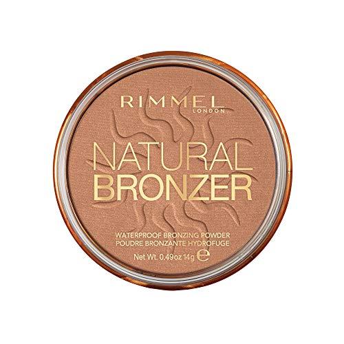 Rimmel London Natural Bronzer Terra Abbronzante Waterproof a Lunga Durata SPF 15, 027 Sun Dance, 14 g