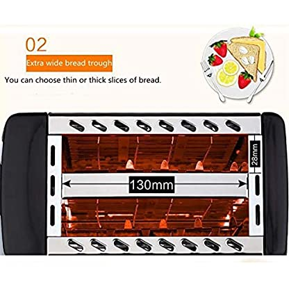 Automatik-Toaster-750W-Haushaltsbrot-Toaster-Backofen-Backen-Home-Kueche-Appliances-Toast-Machine-Fruehstuecksandwich-Fast-Safety-Maker-220V