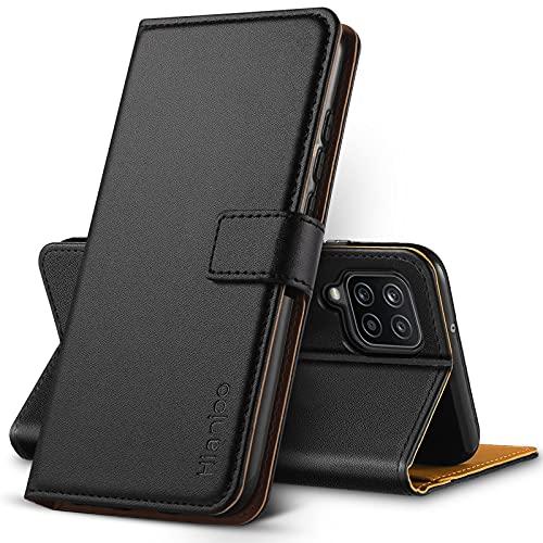 Hianjoo Funda Compatible con Samsung Galaxy A12, Suave PU Cuero Carcasa con...