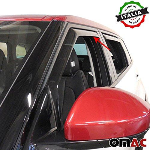 Land Rover Range Rover Evoque Deflettori D\' aria Deflettore pioggia 2pezzi set anteriore