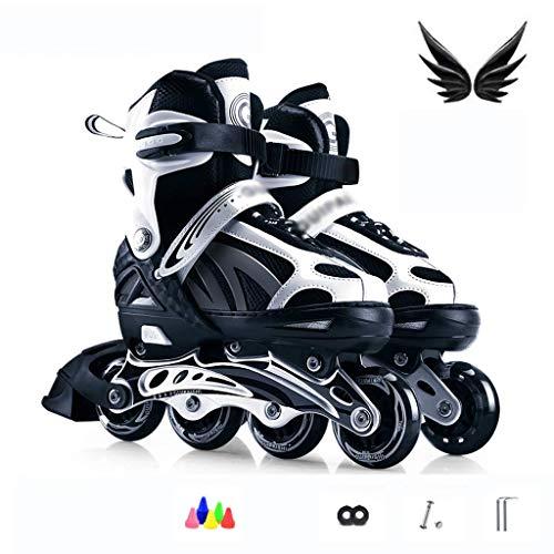 LBX 4in1 Inline-Skates   Rollschuhe   Einstellbare Größe   Kinder Kinder Erwachsene Männer Frauen