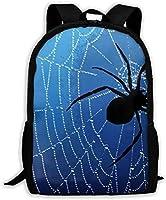 ブルース パイダー ウェブ リュックバック リュックナップザック バッグ ノートパソコン用のバッグ 大容量 バックパックチ キャンパス バックパック 大人のバックパック 旅行 ハイキングナップザック