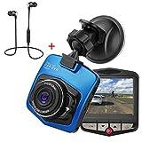 Dash Cam, telecamera da cruscotto per auto, videocamera DVR, Full HD, 1080p, sensore di mo...