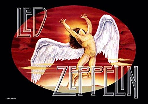 empireposter Led Zeppelin - Icarus - Posterflaggen Fahne - Größe 110x75 cm