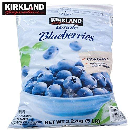 【KIRKLAND】カークランド 冷凍ブルーベリー 2.27kg×3袋(冷凍食品)