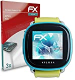 atFoliX Schutzfolie kompatibel mit XPlora Kids Folie, ultraklare & Flexible FX Bildschirmschutzfolie (3X)