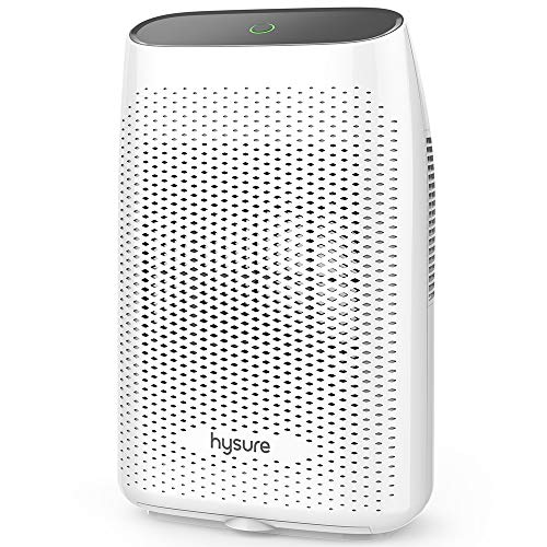 Review Of hysure Electric Dehumidifier, Dehumidifier for Home with 2000ml(68fl.oz) Water Tank Compact and Portable Dehumidifier for Bedroom Damp Air, Mold, Moisture, Kitchen, Bedroom, Basement, Caravan, Office