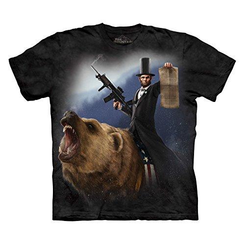 The Mountain Men's Lincoln The Emancipator T-Shirt, Black, S