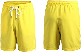 LUKEEXIN Mens Quick Dry Athletic Gym Shorts - Stretchable for Bodybuilding Running Workout Active Training Shorts