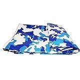 WZHTARPAULIN Carpa De Protección Solar Impermeable Toldo Exterior Camuflaje Impermeable 200G / M² De Tamaño Múltiple Opcional (Tamaño : 4x6m)