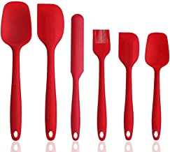 Silicone Spatula Set, 5 Piece Non-Stick & Heat Resistant Rubber Spatula Spoon Kitchen Cooking Baking Tools for Cooking,Lar...