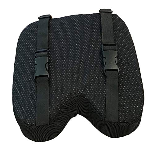Rudergerät Kissen mit Straps rutschfeste Unterseite Speicherrutschfeste Unterseite Schaum waschbar Abdeckungs-Kissen
