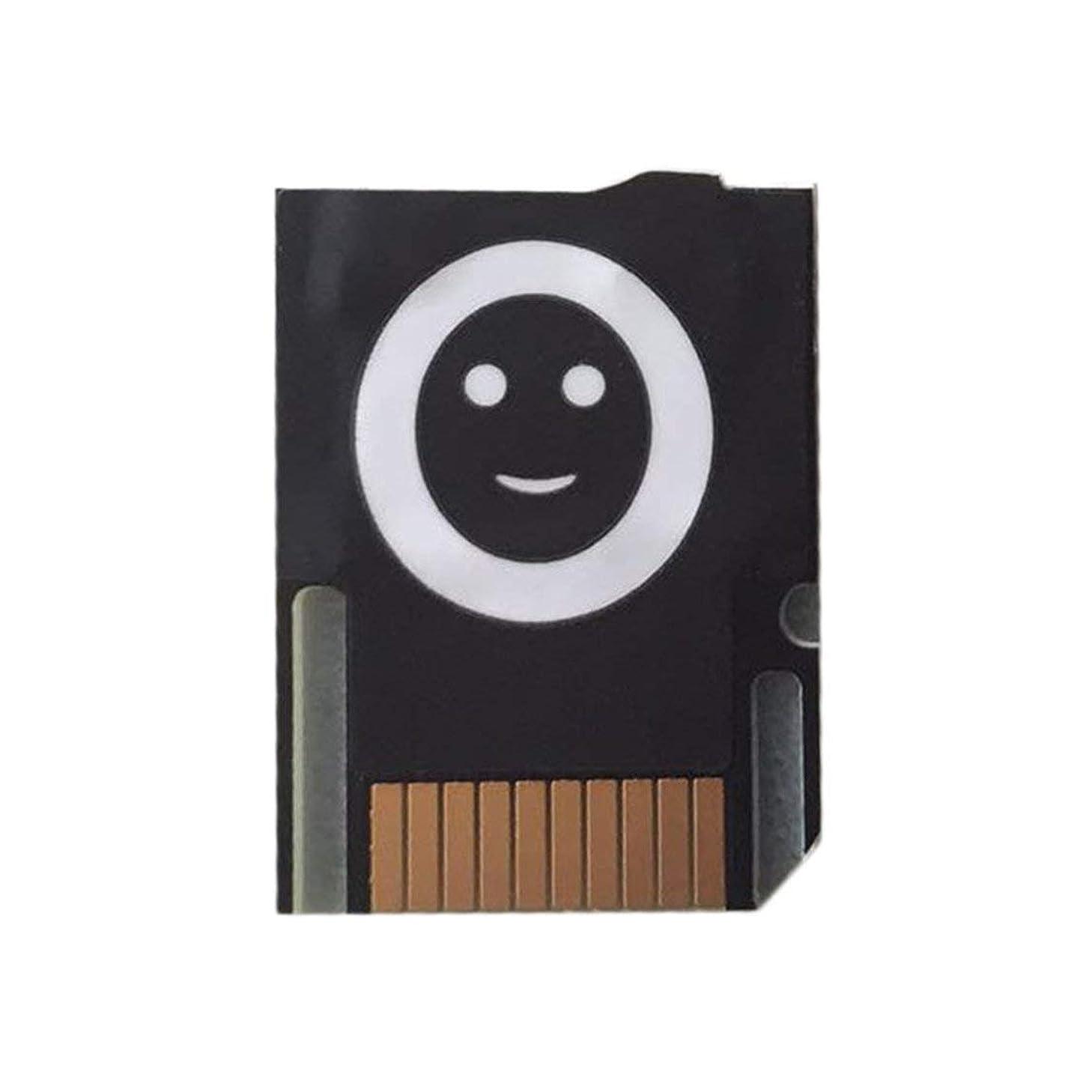 Small Mini Size Game Card to Micro Secure Digital Memory Card Adapter PSVITA SD2Vita Adapter Suitable for PS Vita 1000/2000 - Black