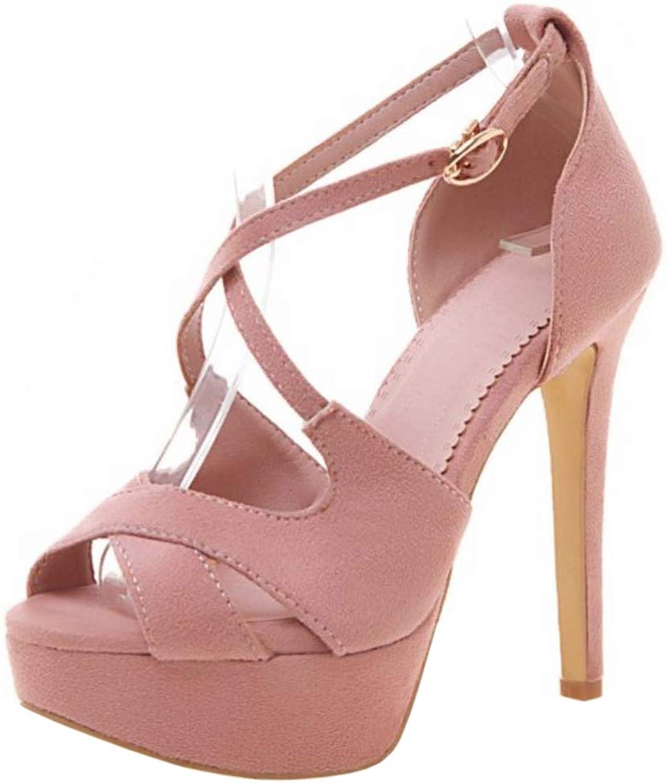 MisaKinsa Women High Heels Sandals Open Toe shoes