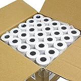 20 rotoli di carta termica per terminali di pagamento, 57x 40 mm