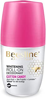 Beesline Whitening Roll-On Deodorant - Cotton Candy, 50 ml, BL0385